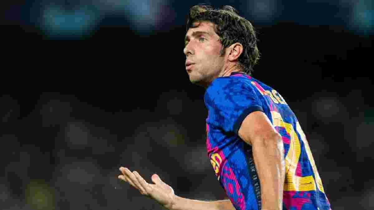 Барселона – Бавария: Серхи Роберто расплакался из-за унизительного свиста родных фанатов