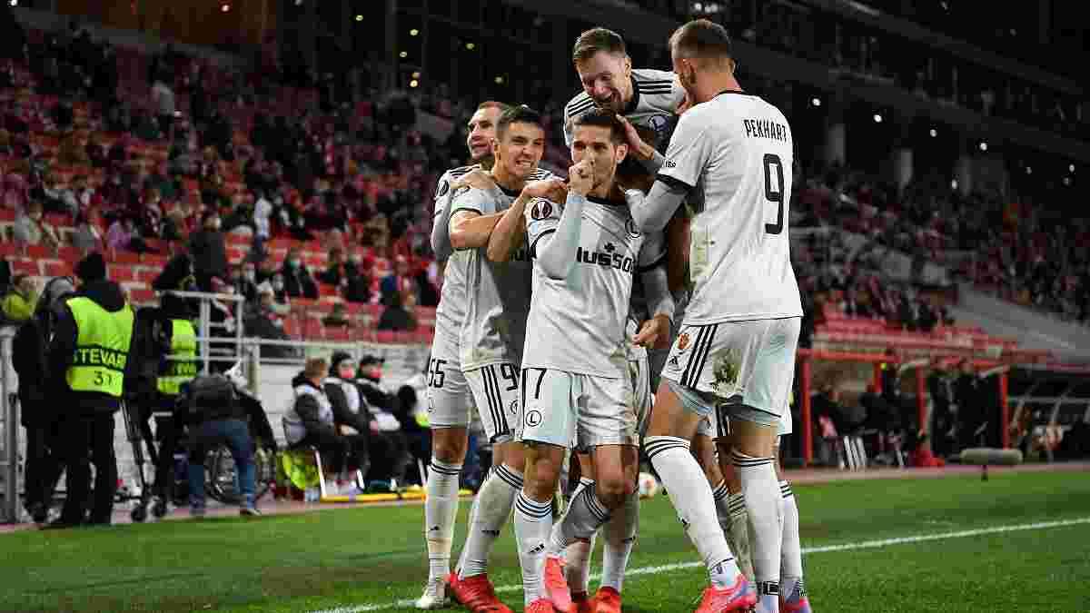 Спартак – Легия – 0:1 – видео гола и обзор встречи с участием Харатина
