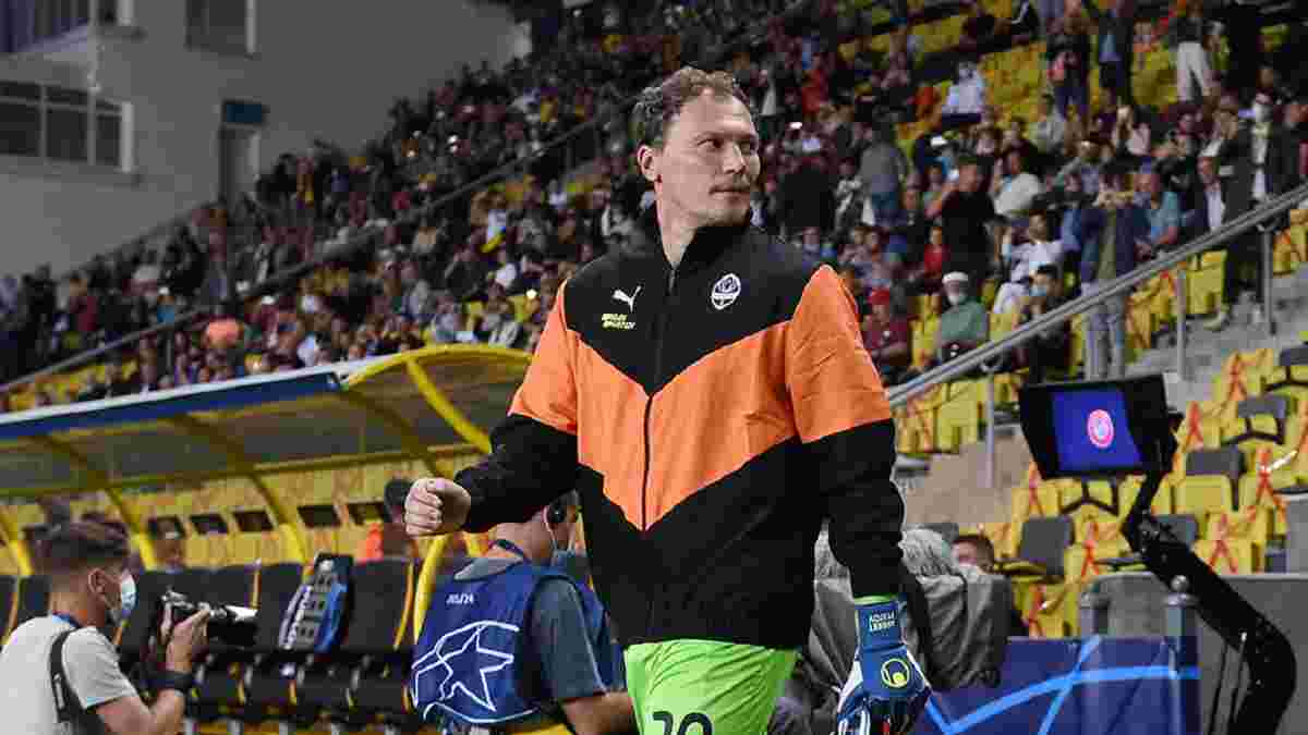 Пятов пробився до десятки найдосвідченіших воротарів Ліги чемпіонів – зіркова компанія з українським слідом