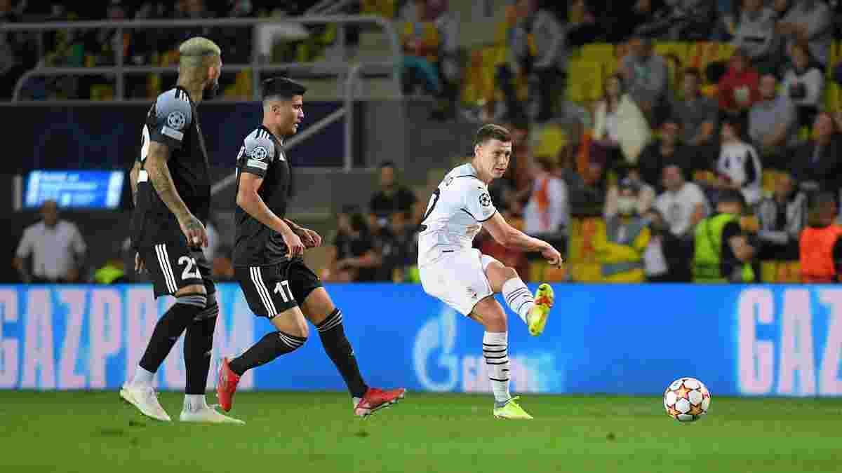 Шериф – Шахтар: Матвієнко пояснив своє фатальне падіння під час першого гола