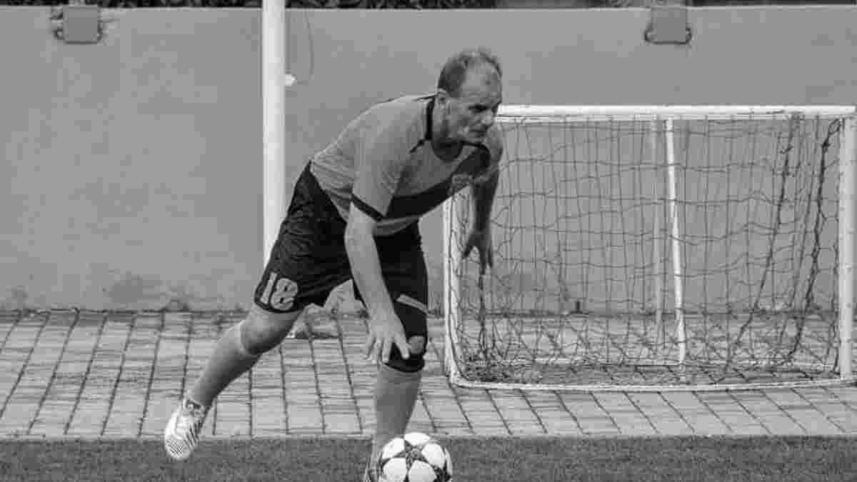 Легендарный форвард Буковины в день своего 60-летия умер прямо во время матча