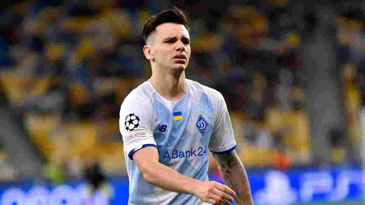 Шапаренко описал свои эмоции после отмененного гола в ворота Бенфики