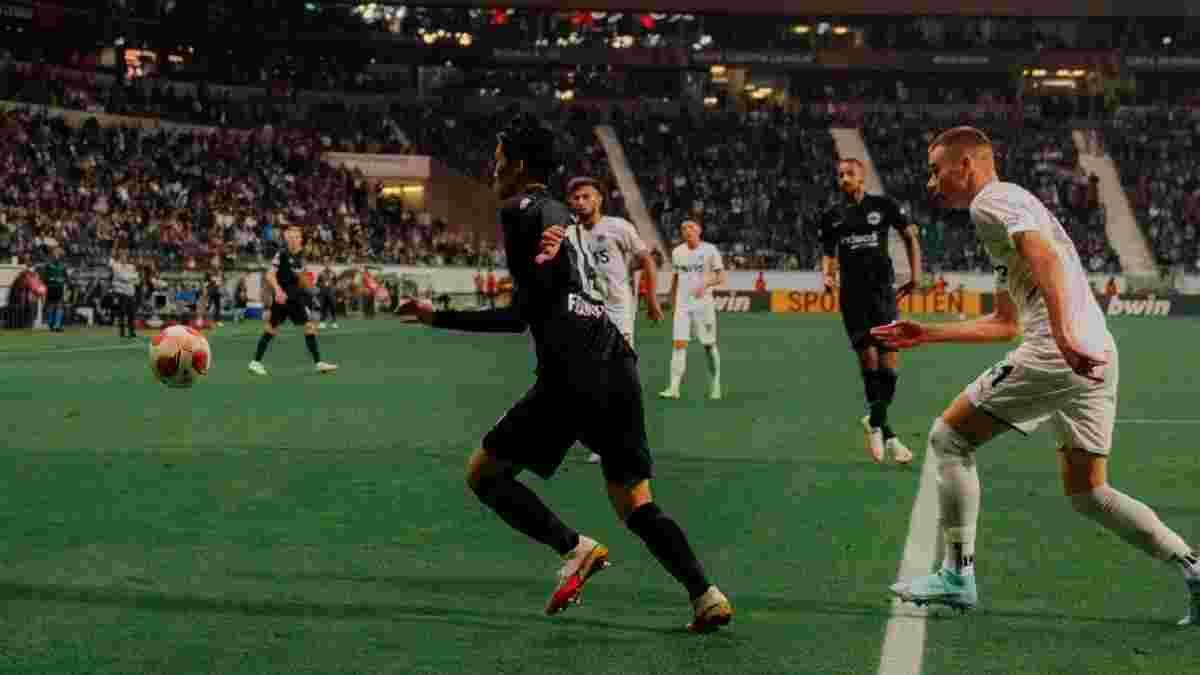 Лига Европы: Наполи вырвал ничью у Лестера, Айнтрахт поделил очки с Фенербахче, Монако минимально одолел Штурм