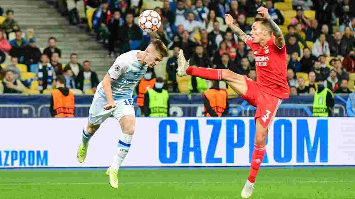 Шахтер и Динамо – в топ-5 самых молодых команд первого тура Лиги чемпионов