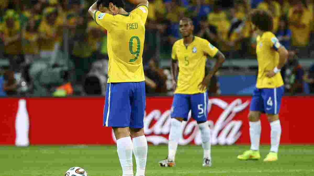 Сльози Бразилії та розпач Аравії: гучні розгроми на чемпіонатах світу