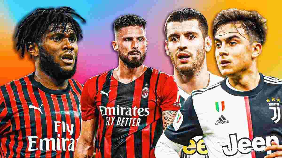 Ювентус – Мілан: анонс матчу Серії А