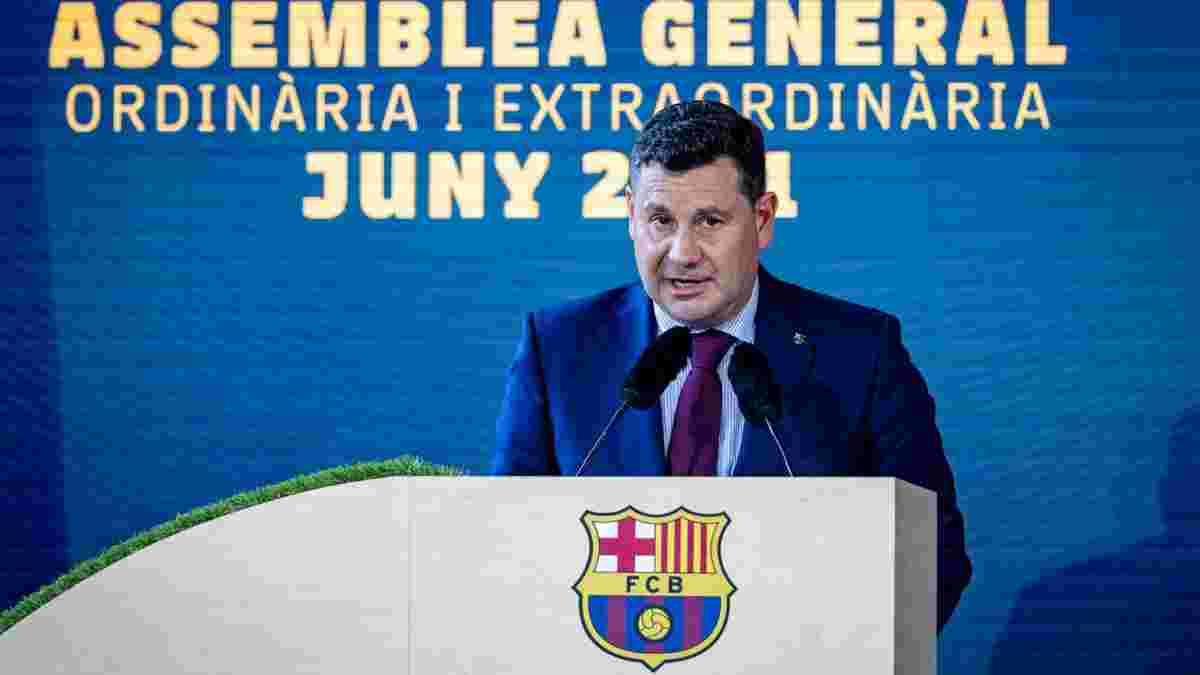 """""""Мы хотели, чтобы Месси остался"""": вице-президент Барселоны – о сложной финансовой ситуации клуба и уходе Лео"""