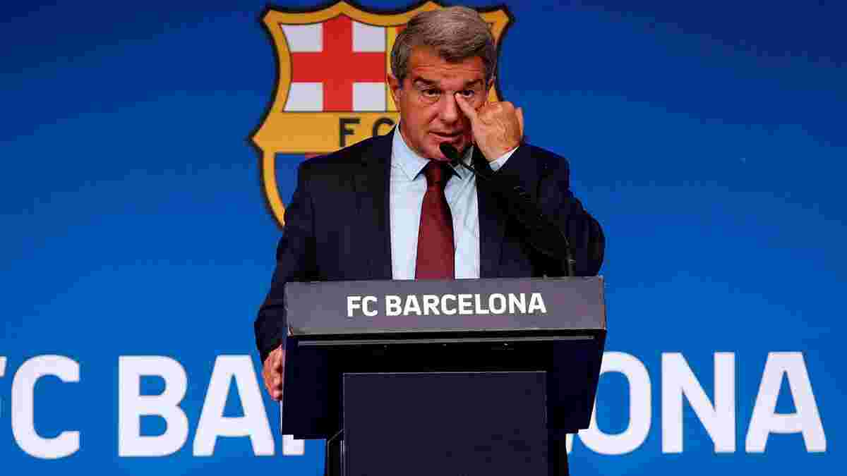 """""""Ви мене розчарували"""": Лапорта оскаженів після ганебної поразки Барселони – Мессі та Ко дісталося у роздягальні"""