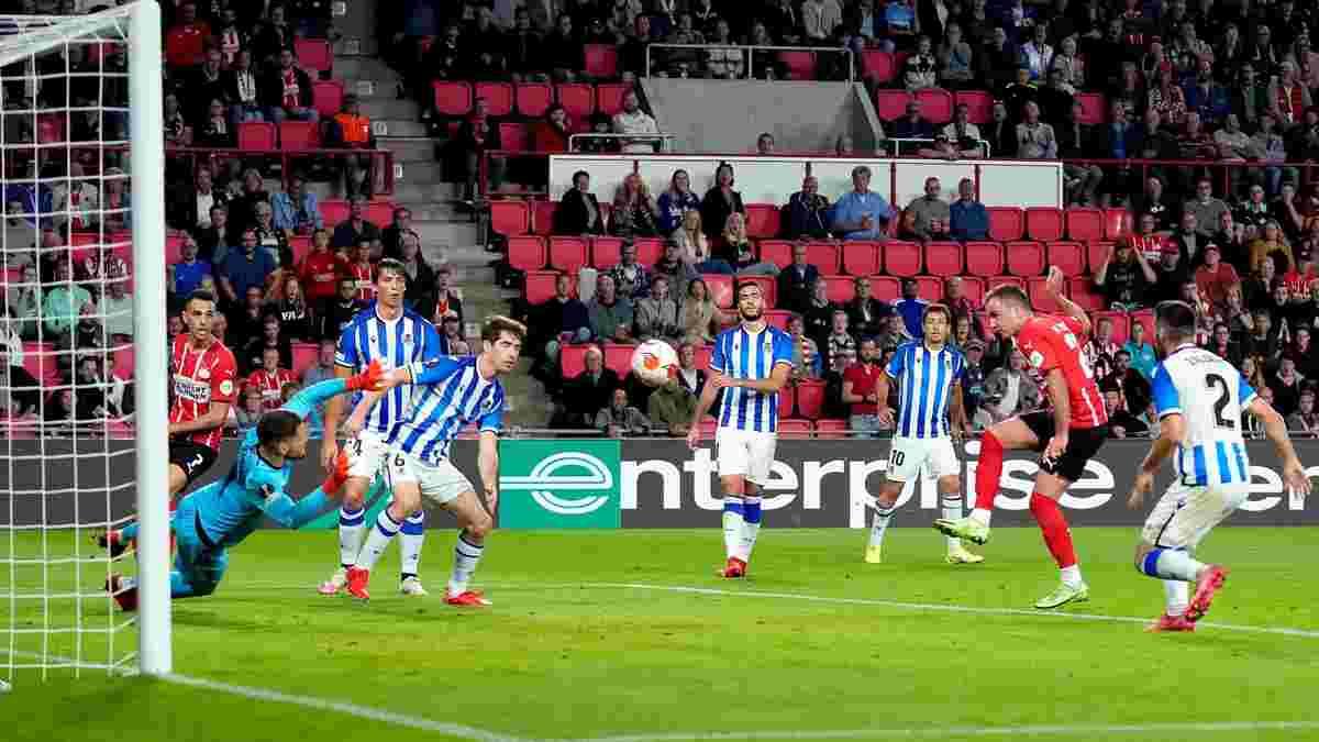Гьотце – найкращий гравець тижня в Лізі Європи, найкращий гол забив Ліон