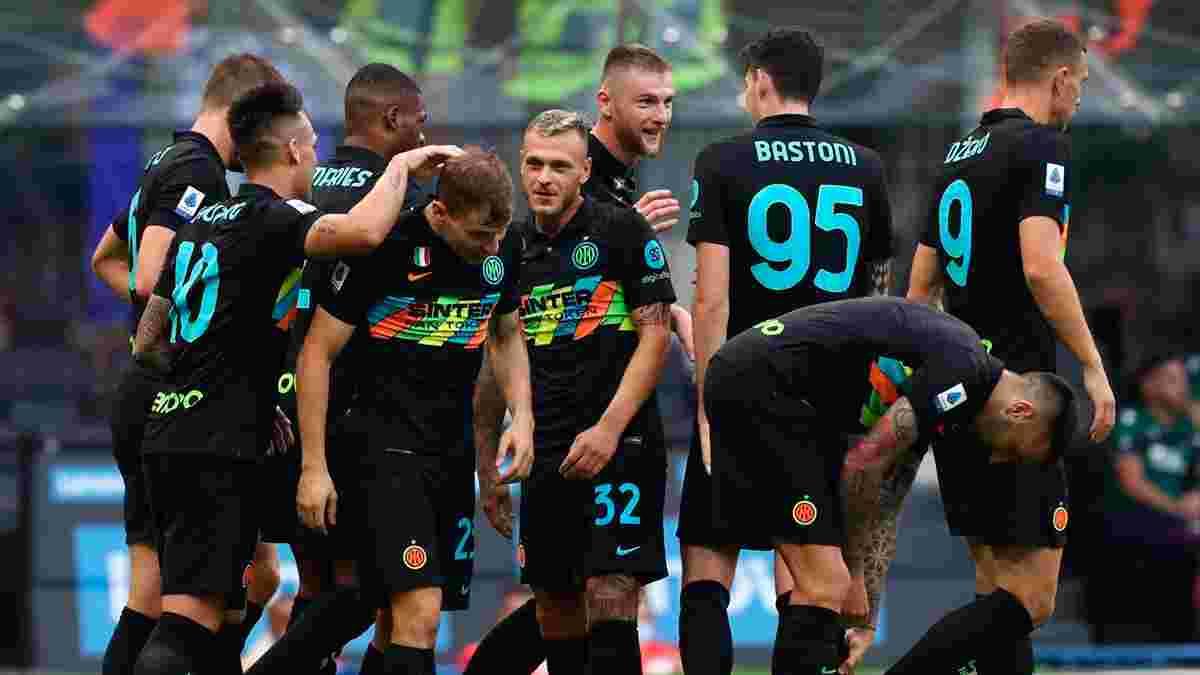 """Інтер знищив Болонью, забивши шість голів – """"нерадзуррі"""" повернулися на вершину Серії А"""