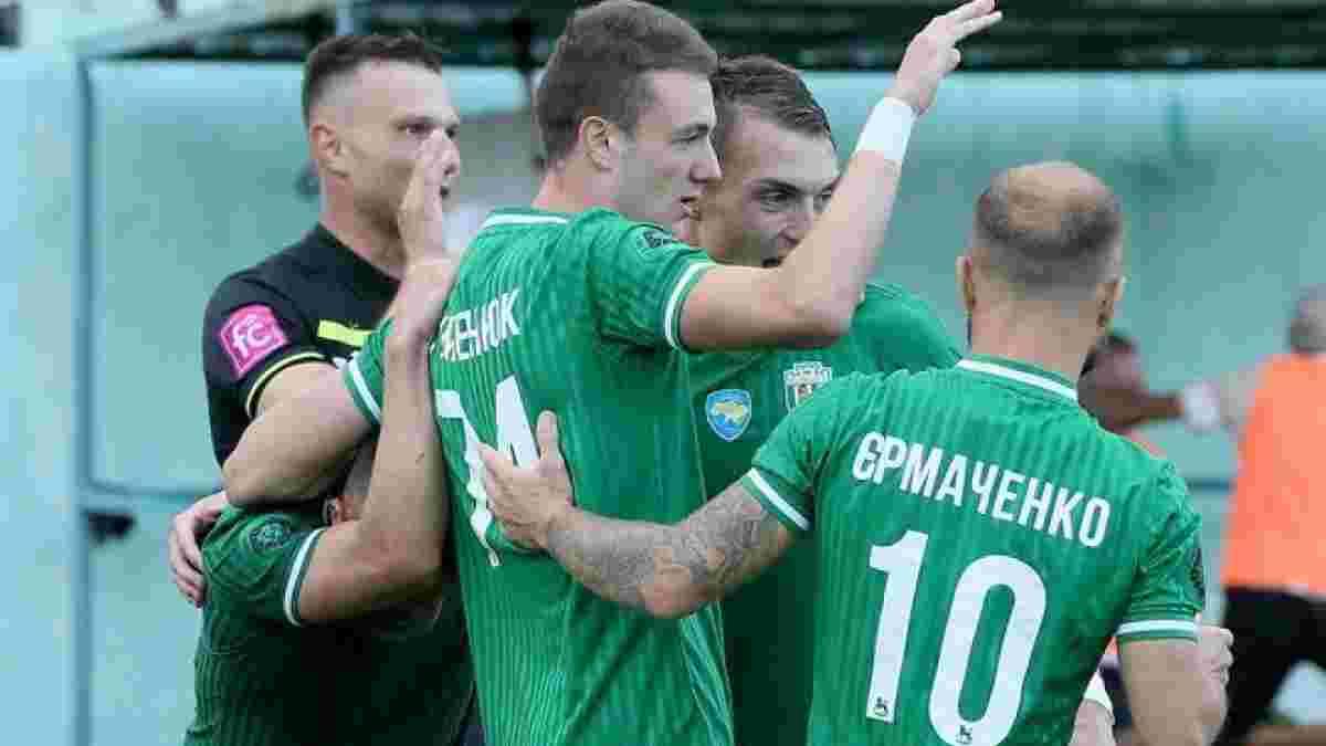 Вторая лига: Львов уничтожил Галич в дерби Карпат, Диназ остался в топ-3, Таврия разбила Реал Фарму после ухода тренера