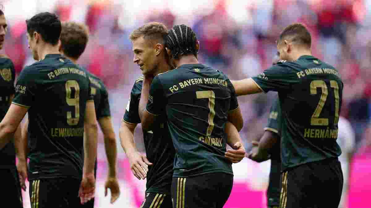 Красота Сане, достижение Левандовски и дубль Киммиха в видеообзоре матча Бавария – Бохум – 7:0