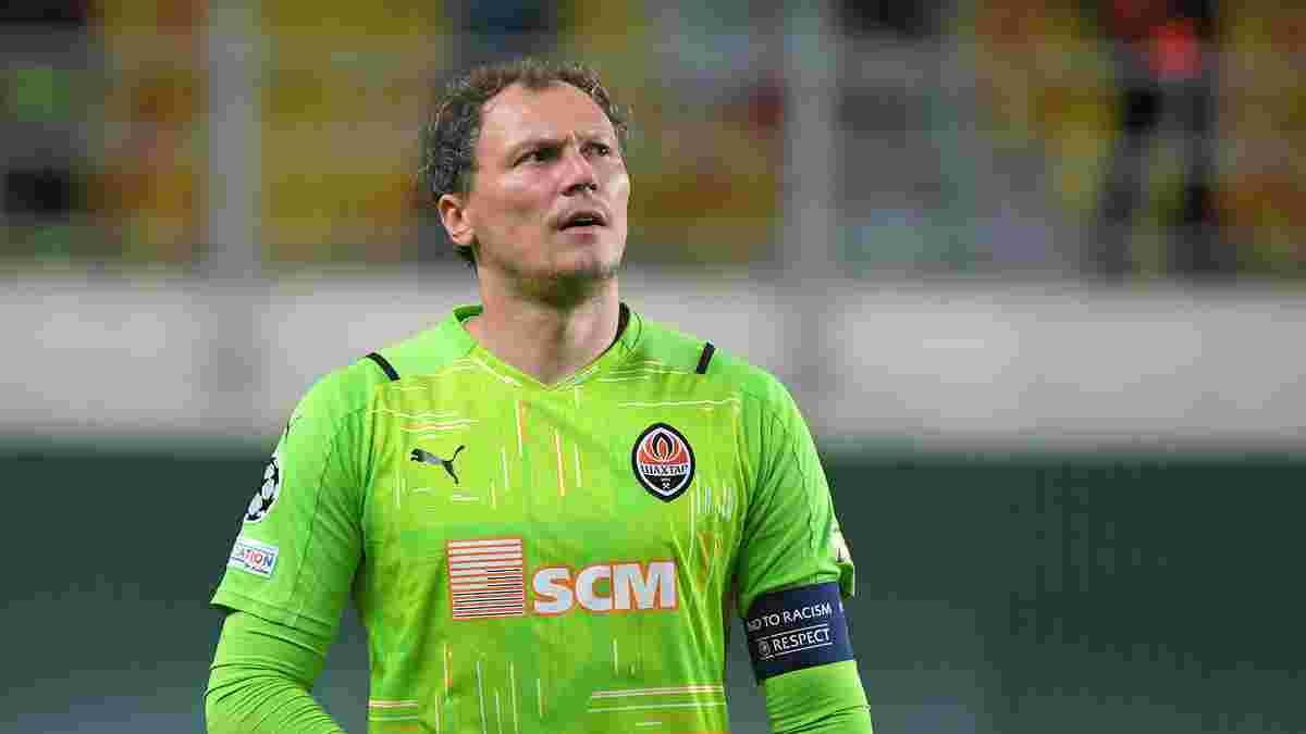 Пятов став найгіршим воротарем 1-го туру Ліги чемпіонів за даними InStat – голкіпер Динамо у топ-15