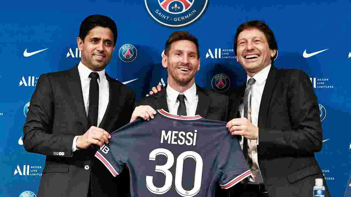 """""""Цифри далекі від реальності"""", – Леонардо спростував, що Мессі заробляє в ПСЖ 30 млн на рік"""