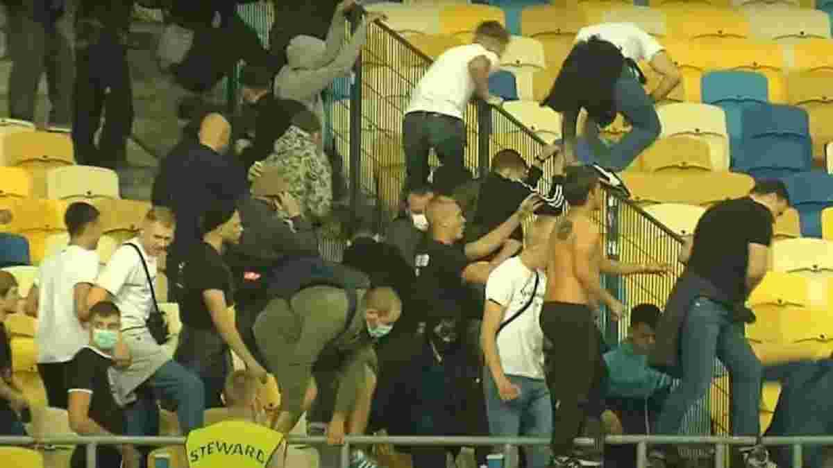 Динамо – Александрия: киевляне обнародовали официальное заявление относительно хулиганских действий ультрас