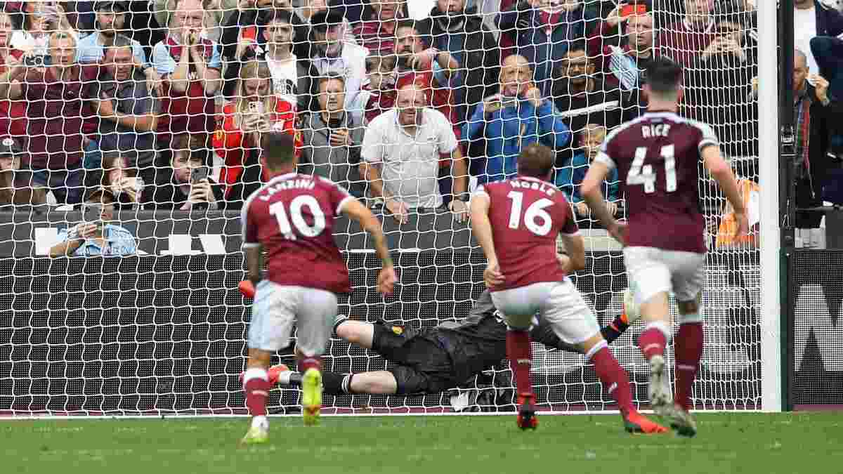 Де Хеа имел только одну мысль при пенальти Вест Хэма – признание голкипера Манчестер Юнайтед