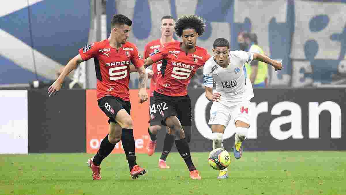 Лига 1: Марсель уверенно одолел Ренн, Нант разгромил Анже на выезде