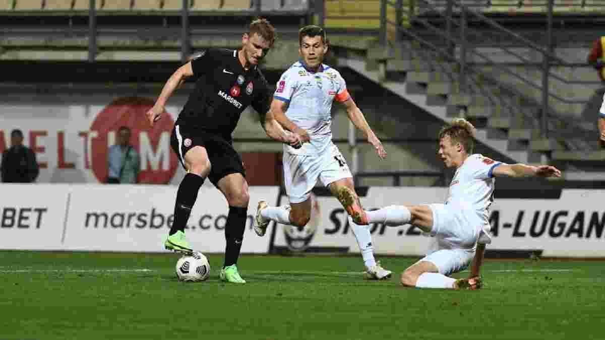 Заря – Черноморец – 3:0 – видео голов и обзор матча