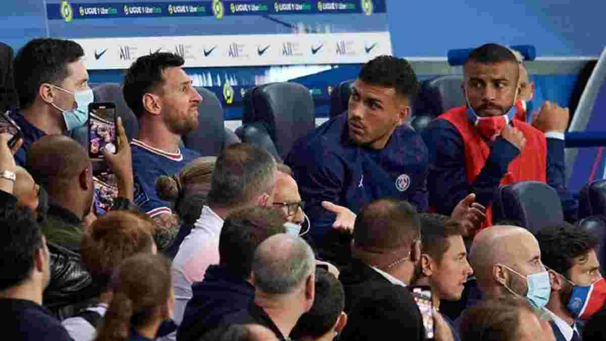 Мессі не святкував переможний гол ПСЖ у матчі з Ліоном – відео реакції аргентинця