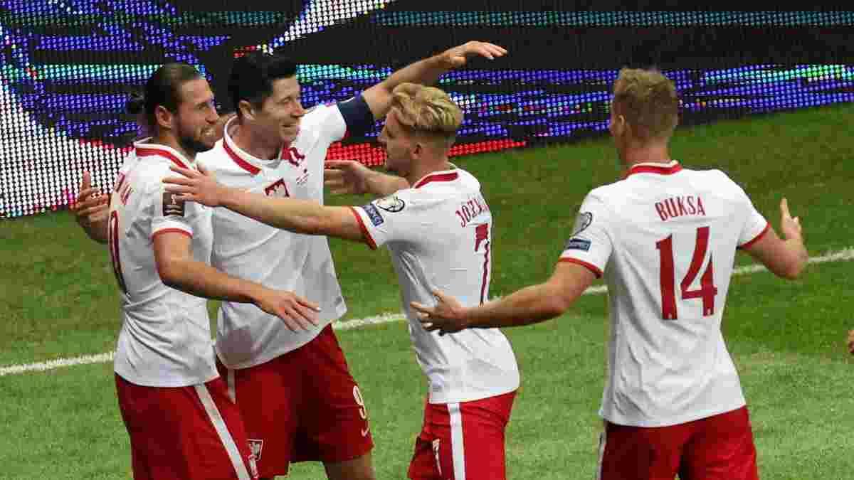Кендзера получил вызов в сборную Польши на ключевые матчи отбора к ЧМ-2022