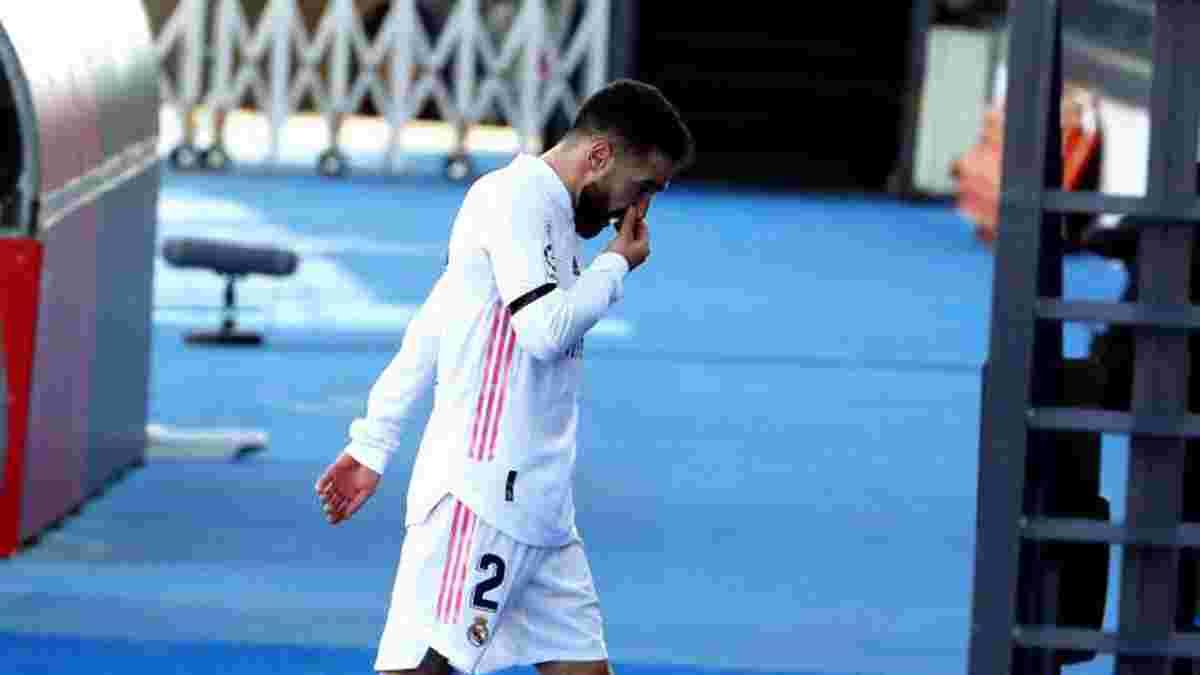Реал снова потерял Карвахаля из-за травмы