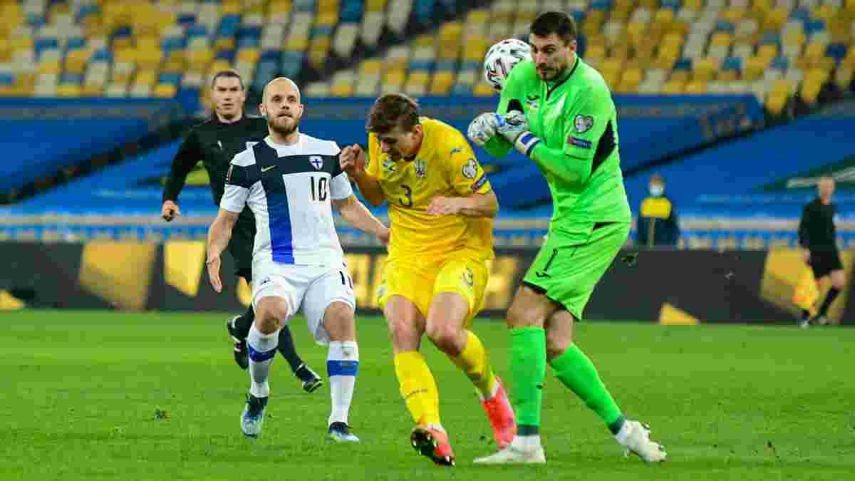 Финляндия – Украина: местные власти определили заполненность трибун на матч квалификации ЧМ-2022