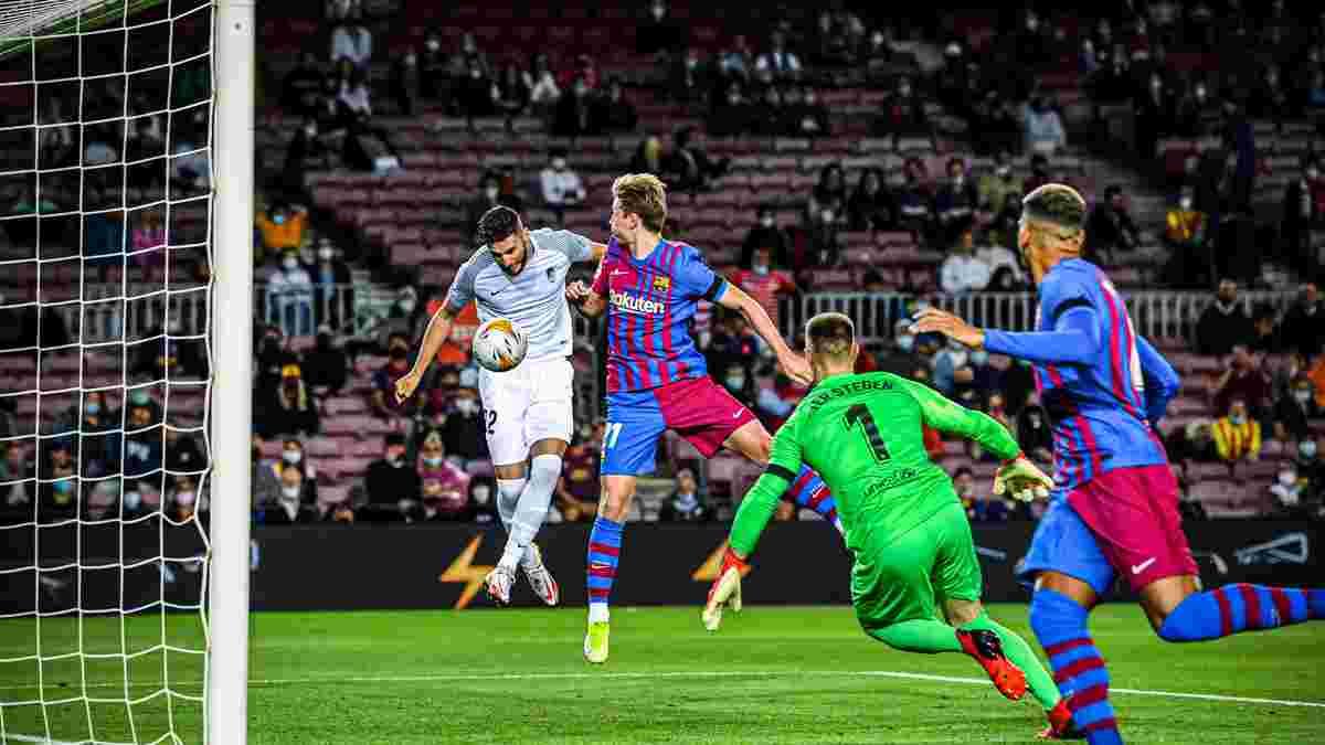 Барселона дома спасла ничью с Гранадой – беззубый примитивный футбол, Кумана оправдывает только переполненный лазарет