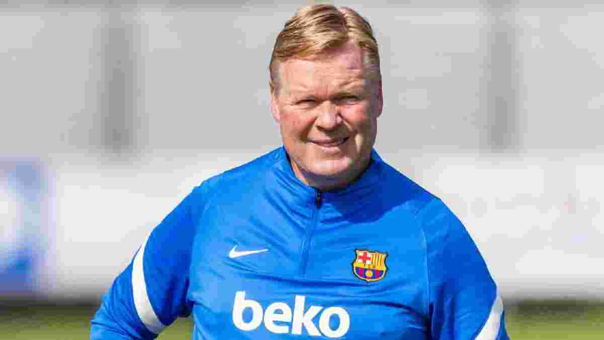 Барселона не будет форсировать события с потенциальным увольнением Кумана, но клуб готовится к перезагрузке