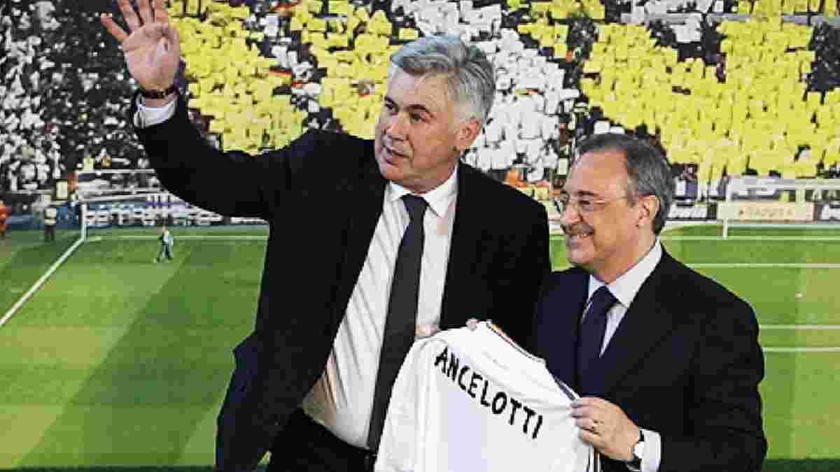 """""""Я проводжу медовий місяць"""", – Анчелотті оцінив свою роботу після повернення у Реал"""