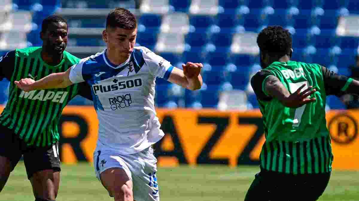Аталанта – Сассуоло: Маліновський потрапив в основу на матч Серії А