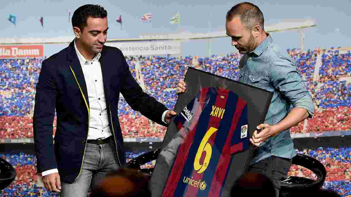 Іньєста назвав свого фаворита на тренерське крісло Барселони