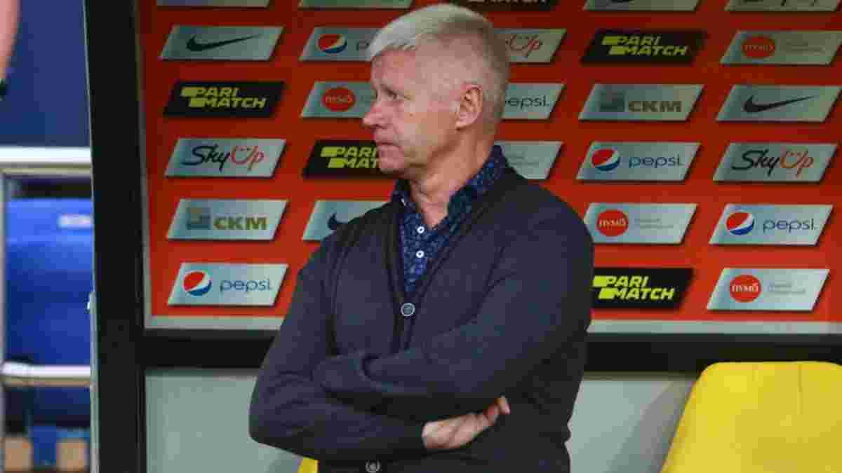 Чижевський отримав вирок від керівництва Агробізнеса за провальний старт команди