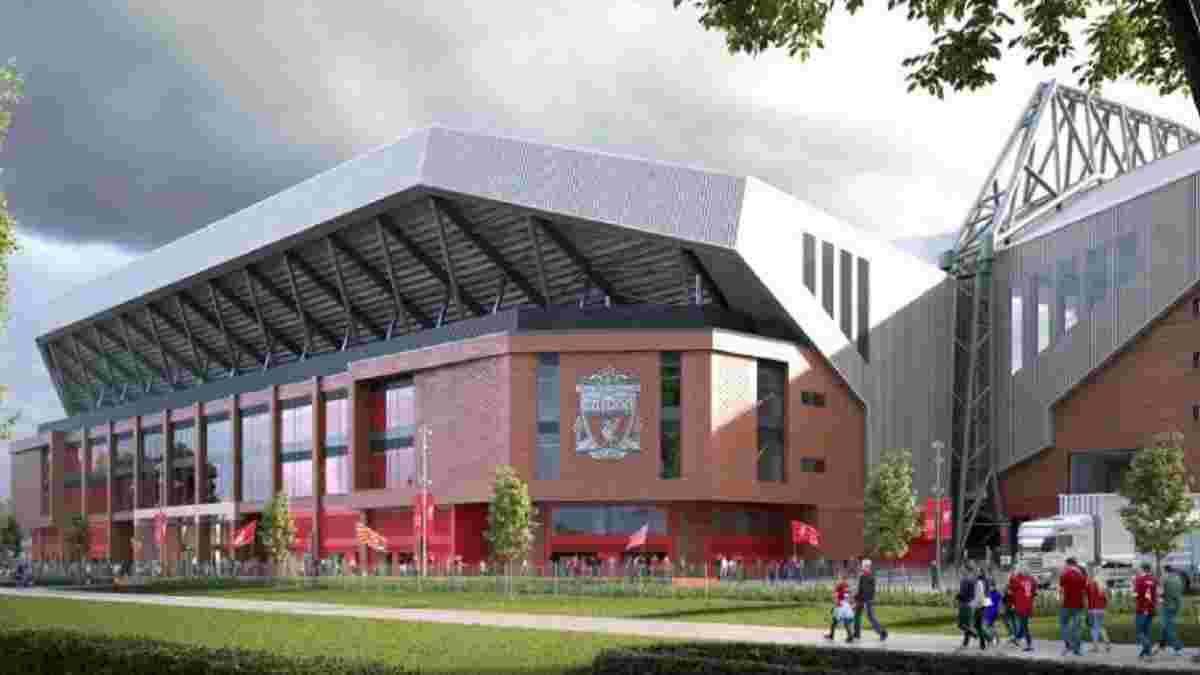 Ливерпуль анонсировал начало реконструкции Энфилда