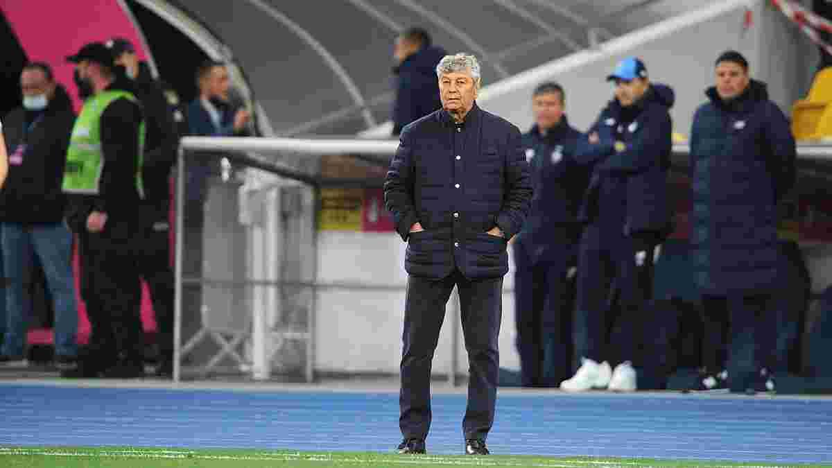 Луческу проигнорировал коридор, созданный игроками Шахтера, перед награждением Суперкубка Украины