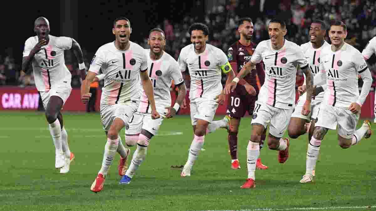 Неймар и Мбаппе спровоцировали стычку после тяжелой победы ПСЖ над аутсайдером Лиги 1