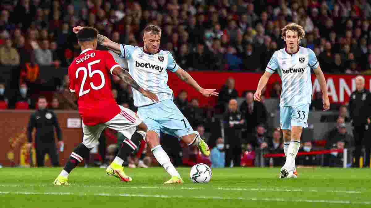 Невероятный промах Ярмоленко в ворота Манчестер Юнайтед – видео дня