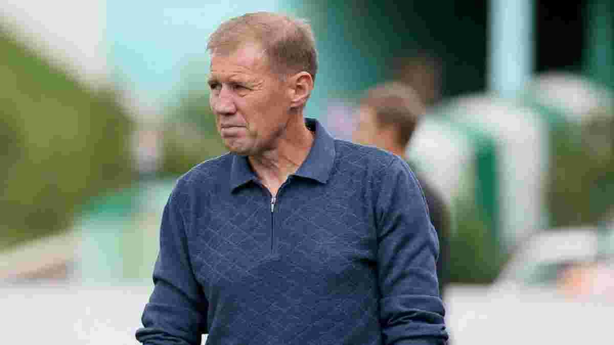 Карпати Галич оголосили про відхід легенди львів'ян з посади головного тренера