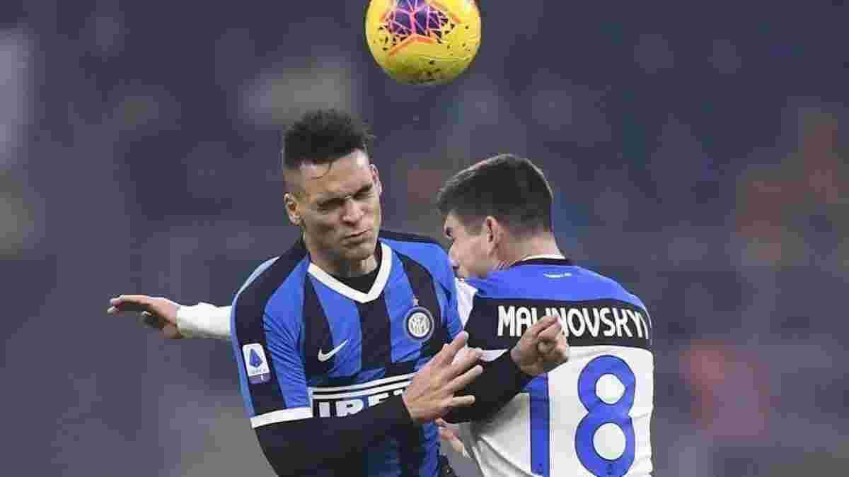 Інтер – Аталанта: Маліновський потрапив у основний склад на матч Серії А