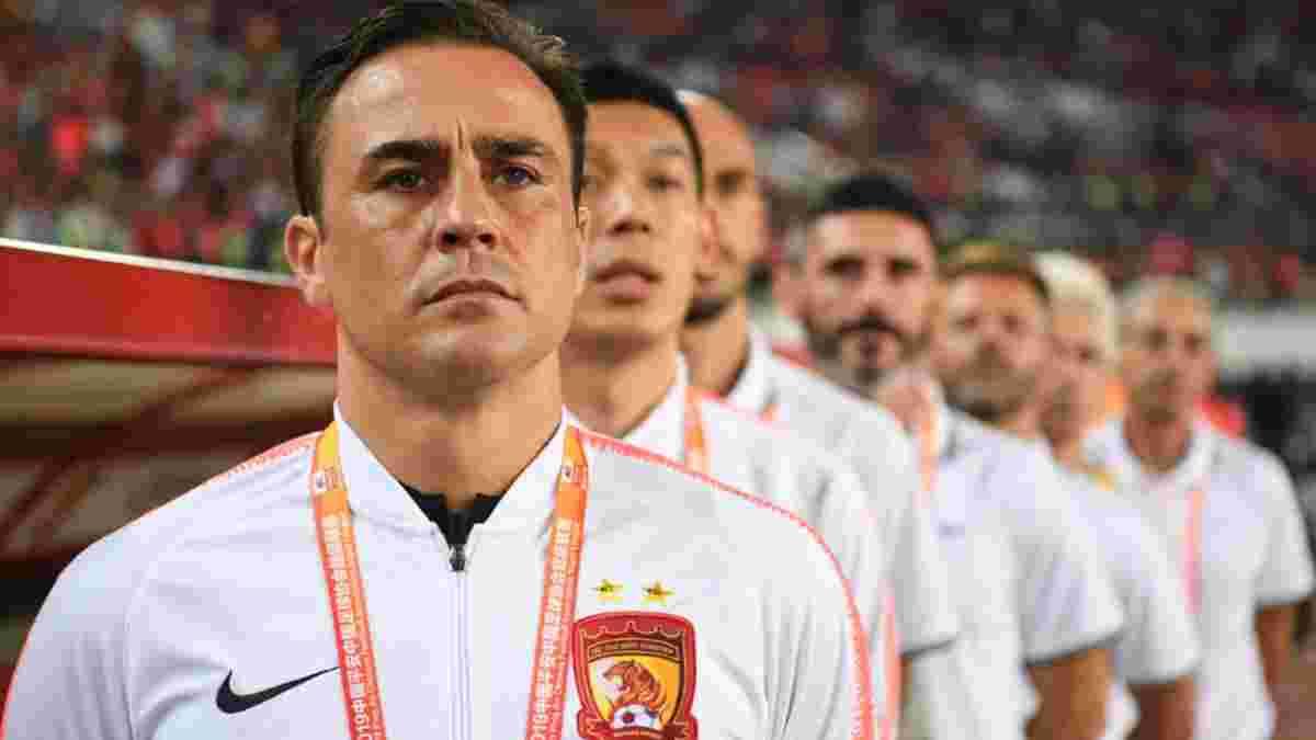 """Каннаваро покидає Китай – володар """"Золотого м'яча"""" узгодив розрив контракту з місцевим грандом"""