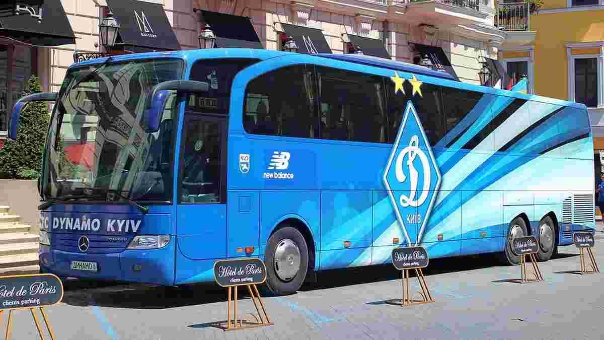 Водитель автобуса Динамо умер по дороге на матч во Львов