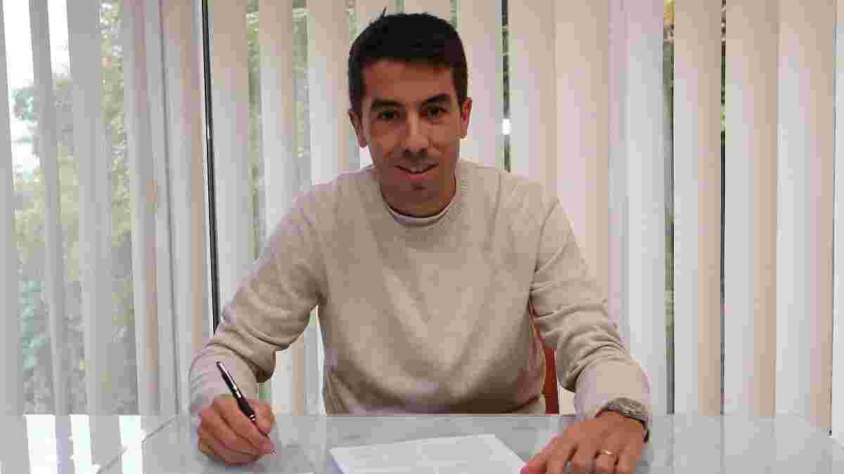Динамо официально продлило контракт с Де Пеной