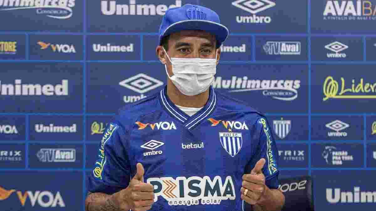 Жадсон сменил клуб в Бразилии – капитаном экс-звезды Шахтера будет легенда Динамо