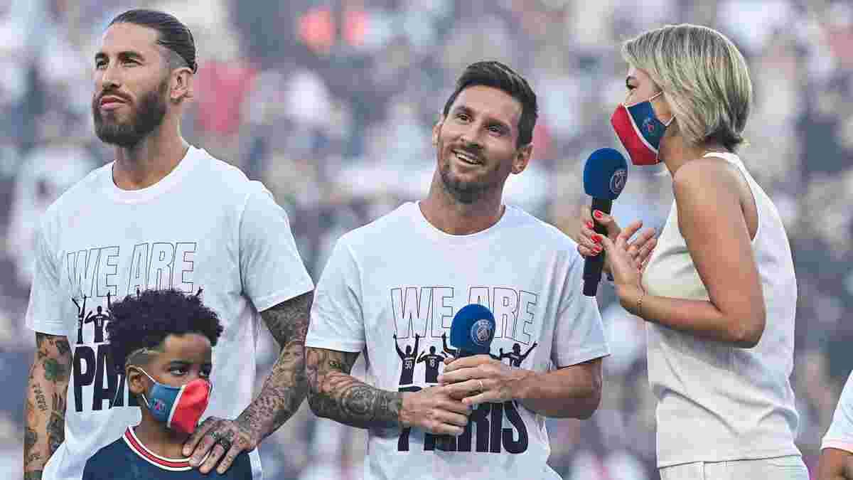 ПСЖ объявил о состоянии Месси и Рамоса перед следующим матчем Лиги 1