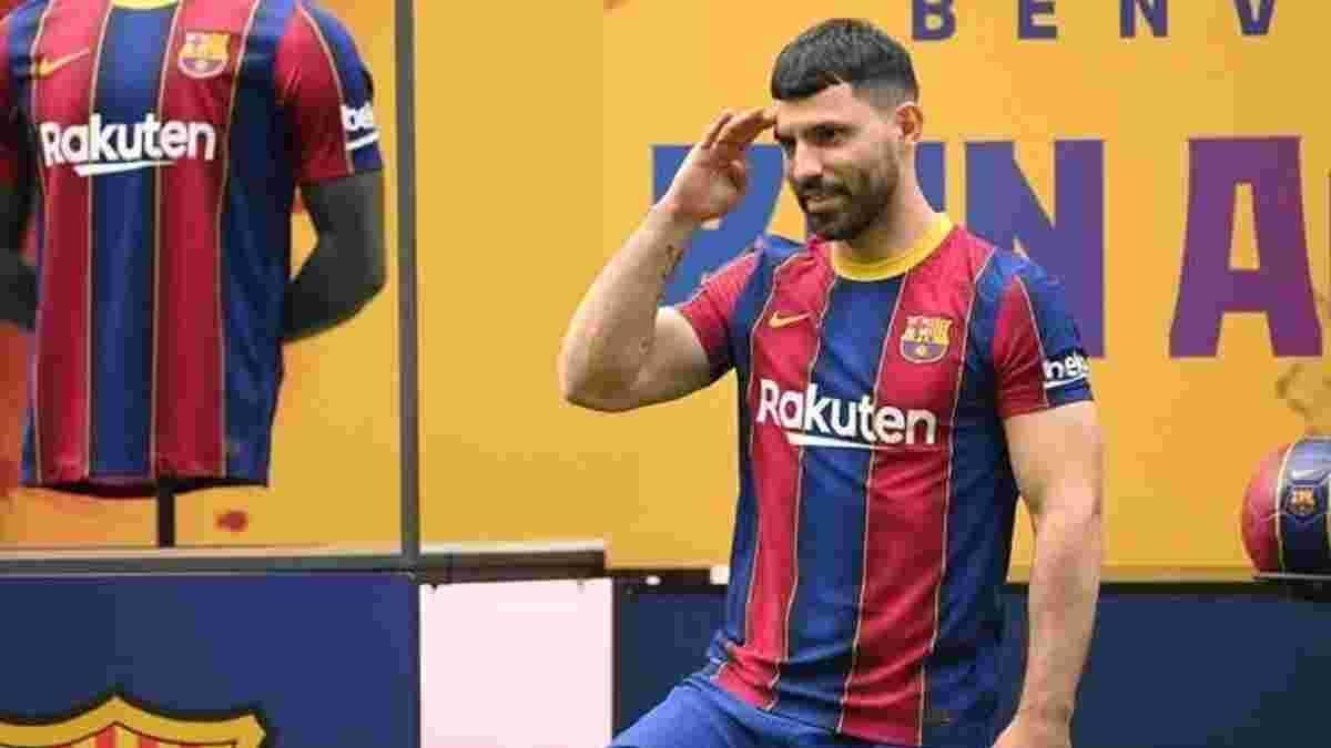 Агуэро дебютирует за Барселону на две недели раньше
