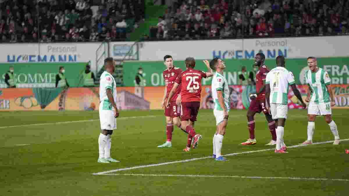 Достижение Мюллера в видеообзоре матча Гройтер Фюрт – Бавария – 1:3
