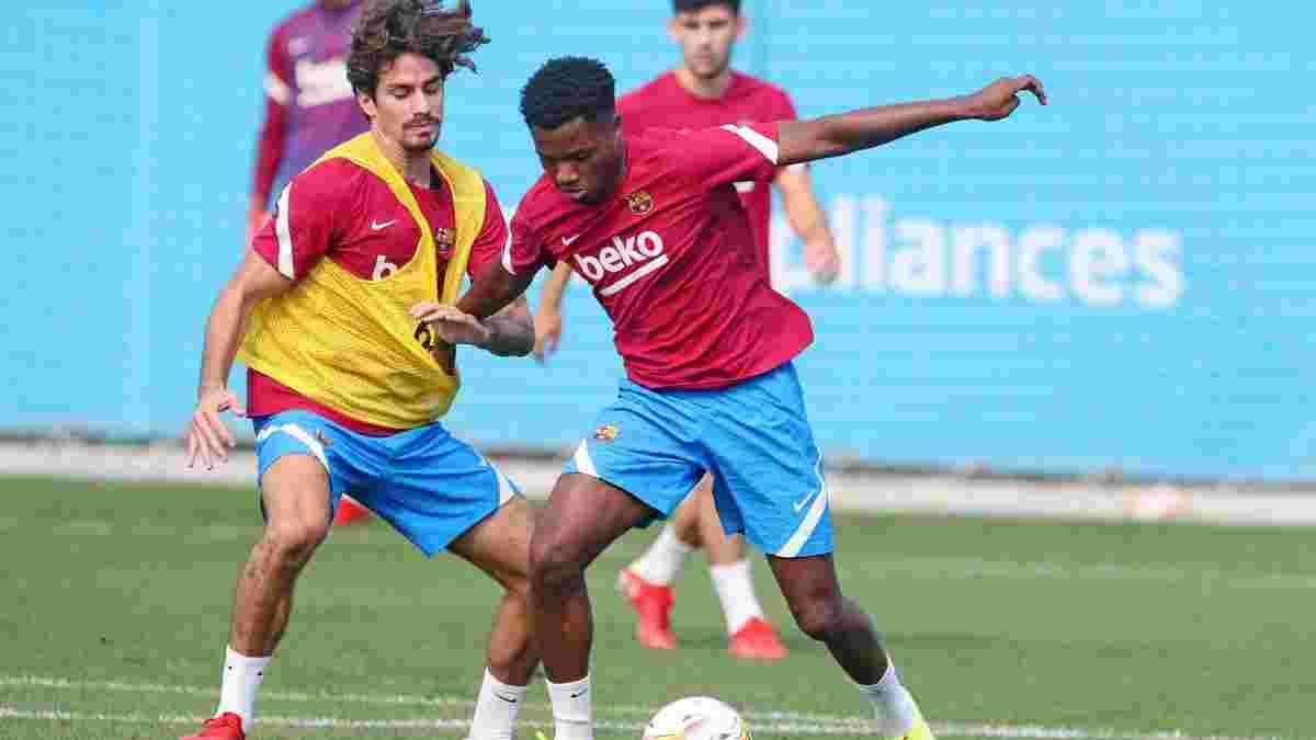 Ансу Фаті повернувся у заявку Барселони – талант не грав майже рік