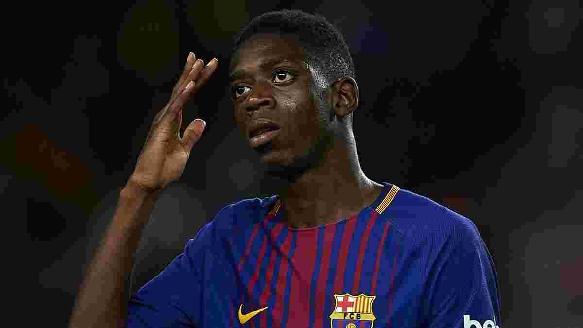 Дембеле получит два варианта продолжения контракта от Барселоны