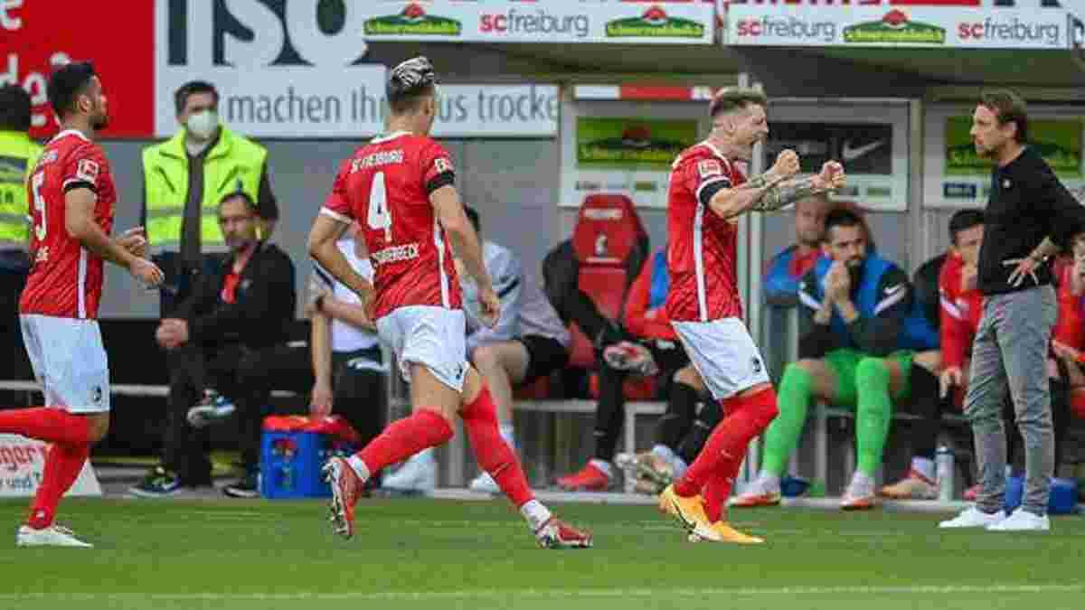 """Фрайбург розгромив Аугсбург і ділить з Баварією статус """"незайманих"""" команд Бундесліги, Штутгарт розписав нічию з Бохумом"""