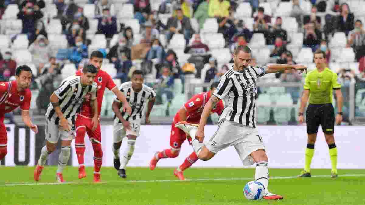 Ювентус – Сампдория – 3:2 – видео голов и обзор матча