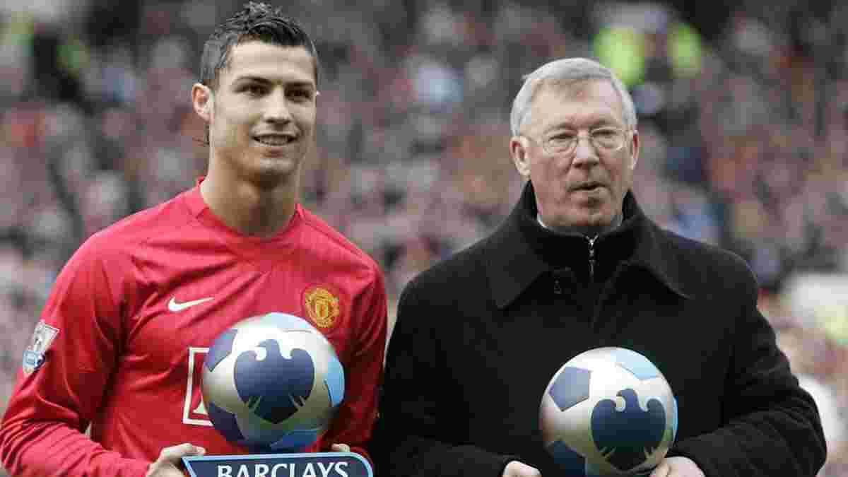 """""""Пришел, увидел, победил"""": Фергюсон сравнил Роналду с Цезарем после возвращения в Манчестер Юнайтед"""